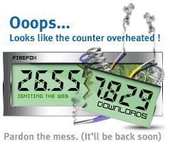 Firefox - Download-counter meltdown